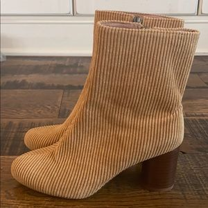 The Kaila Boots in Corduroy Madewell aa215